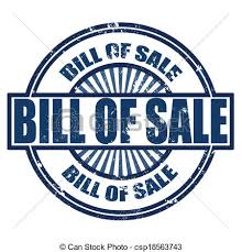 Bill of Sale Required beginning January 1, 2020